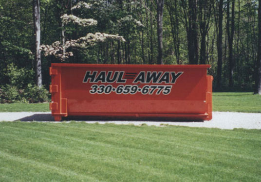 Dumpster rental Cleveland OH at Haul-Away