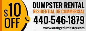 Northeast Ohio Dumpster Rental
