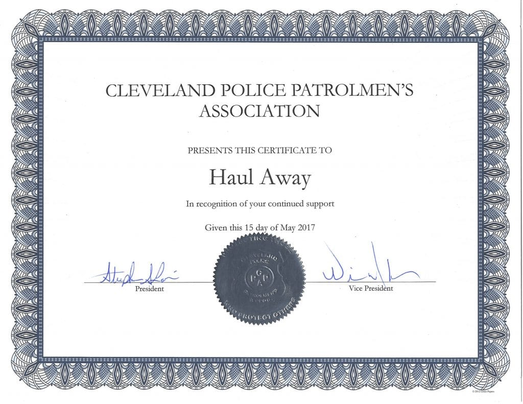 Police Memorial Weekend Gathering At Cleveland Police Patrolmen's Association In Union Hall